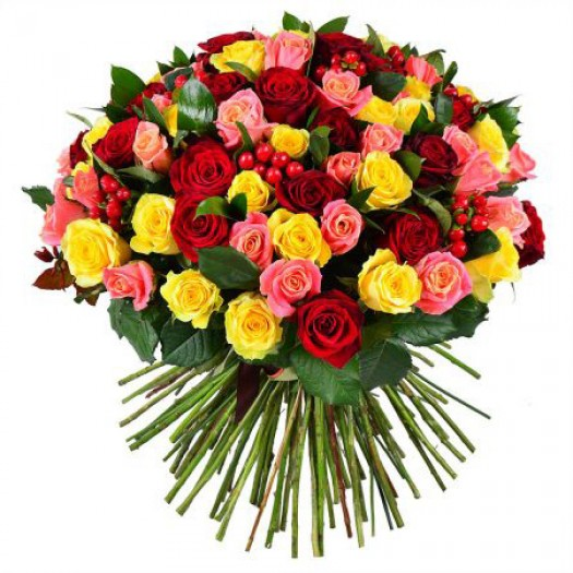 101 роза ассорти