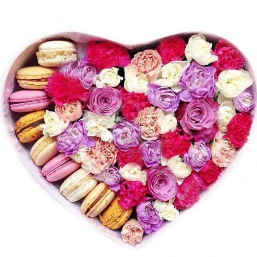 Розовые яства в сердце