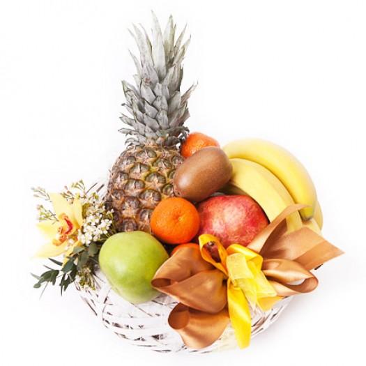 Корзина с фруктами «Лакомка»