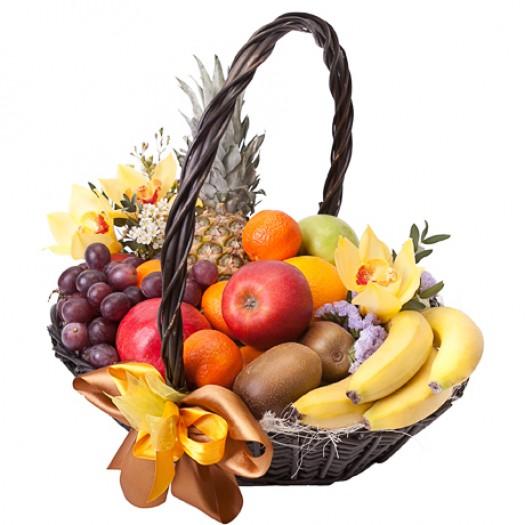 Корзина с фруктами «Нежность»