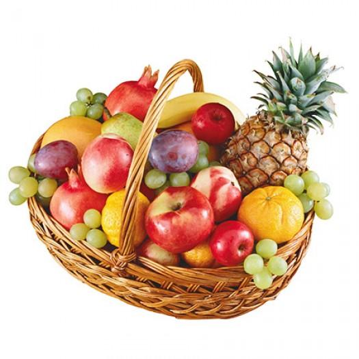 Корзина с фруктами «Островок лета»