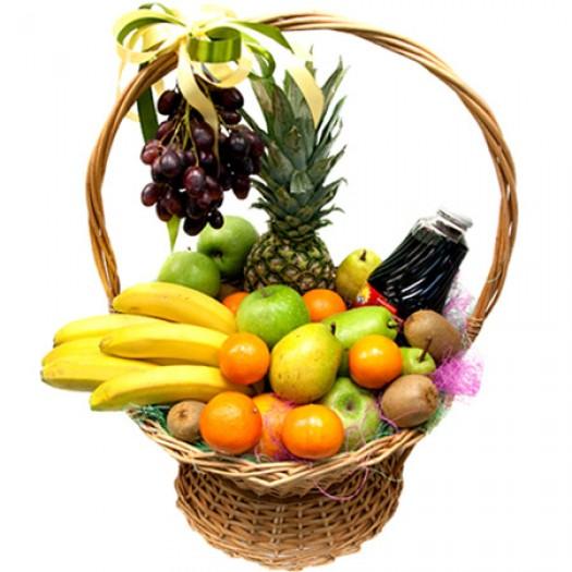 Корзина с фруктами «Райский остров»