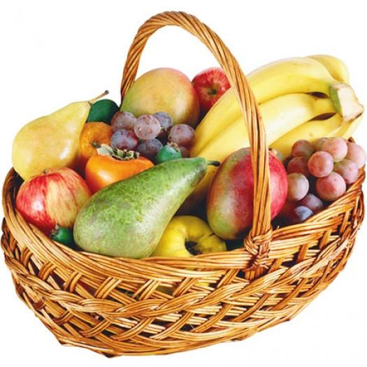 Корзина с фруктами «Тропические сладости»