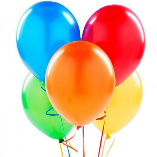 Разноцветные шарики поштучно