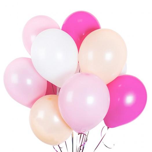 10 шариков для девочки